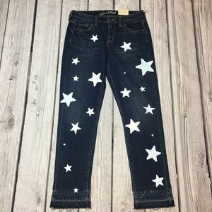 Star Up-Cycled Denim Jeans Size 4